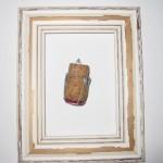A Framed Wine Cork