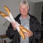 Susan gets her baguette.