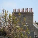 More chimney pots.