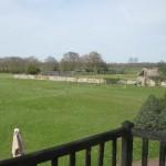 A golf  course near Honfleur