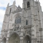 The cathedral in Nantes